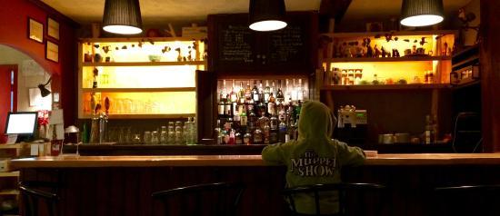 Auberge des Appalaches: Bar