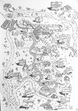 Mas de Borràs : Mapa del lugar