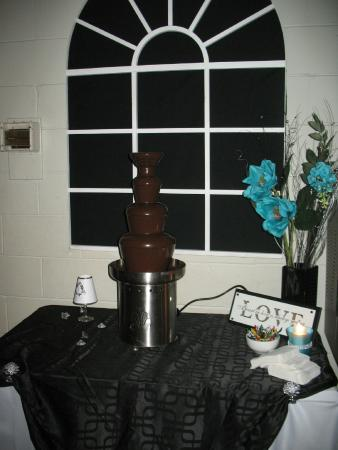 Forest, Canadá: Chocolate Fountain