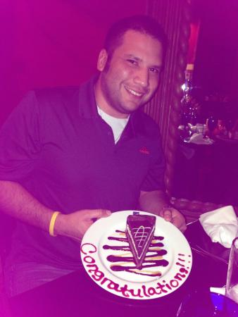 Texas De Brazil : I took my friend and his wife out to celebrate his upcoming purple belt promotion . The food was