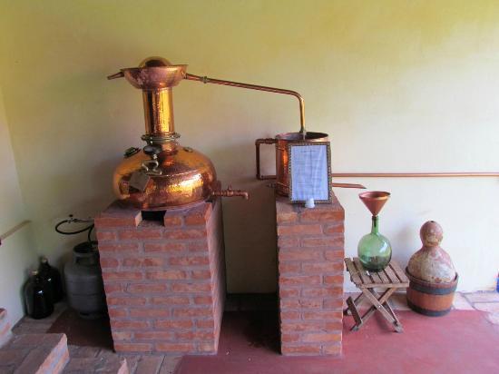 Casa da Cachaca : Mini alambique