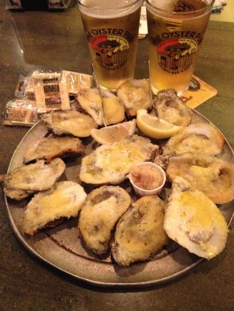 Oyster Pub: Chargrilled Oysters