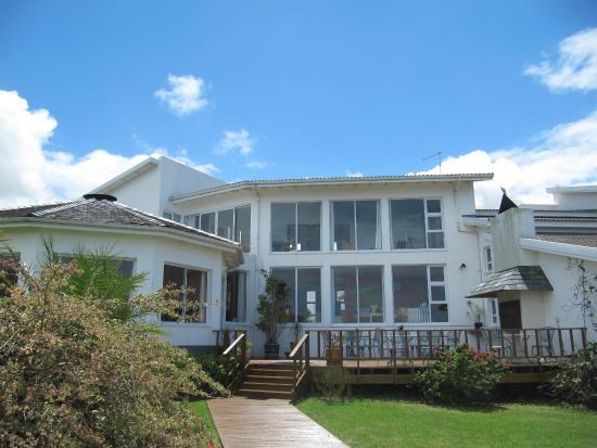 Cintsa Lodge : Gartenansicht