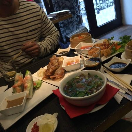 Starters Picture Of Spring Roll Asian Cuisine Warsaw Tripadvisor
