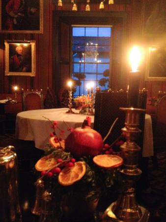 Afternoon tea dining room