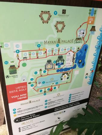 grand mayan cancun map Resort Map Picture Of The Grand Mayan At Vidanta Riviera Maya grand mayan cancun map