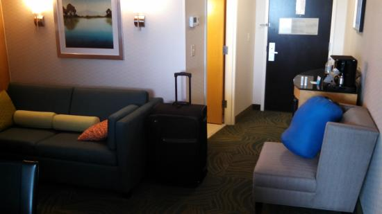 SpringHill Suites Minneapolis-St. Paul Airport/Mall of America : Sitting area