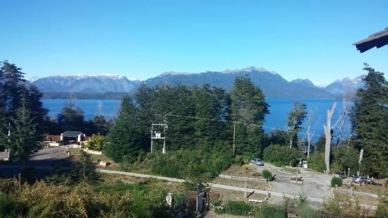 Hosteria Le Lac: Vista desde la habitación 4