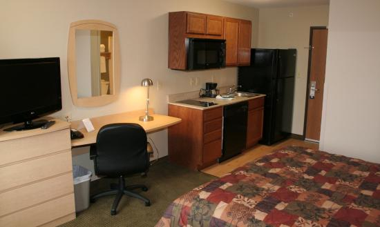 Suburban Extended Stay Hotel Clarksville: Standard Studio