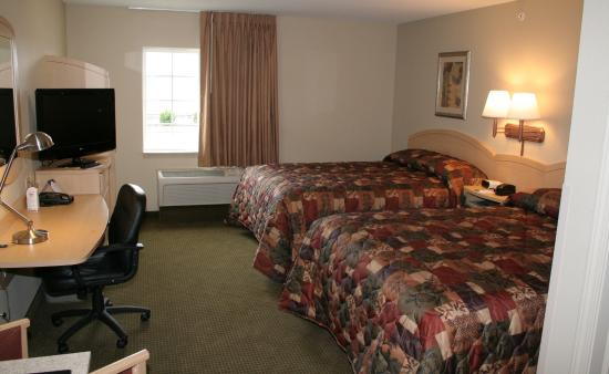 Suburban Extended Stay Hotel Clarksville: Double Studio