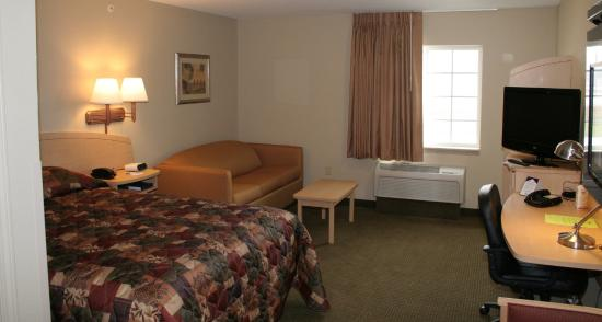 Suburban Extended Stay Hotel Clarksville: Deluxe Studio
