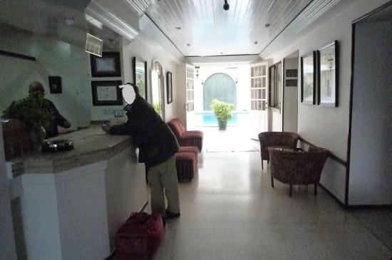 Hotel Splendid: The person to whom my husband gave our postcards, never arrived...
