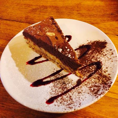 The Red Lion Boldre: Coffee & Chocolate cheesecake, absolutely amazing!!