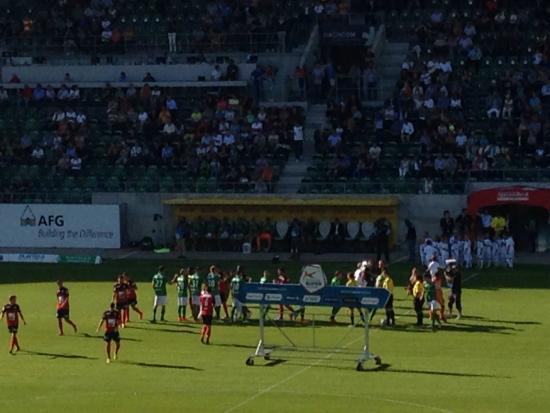 AFG Arena: 1. Mannschaft