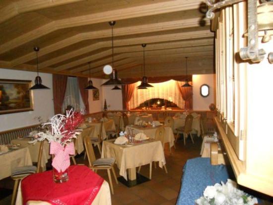 Hotel Ciampian: Sala da pranzo