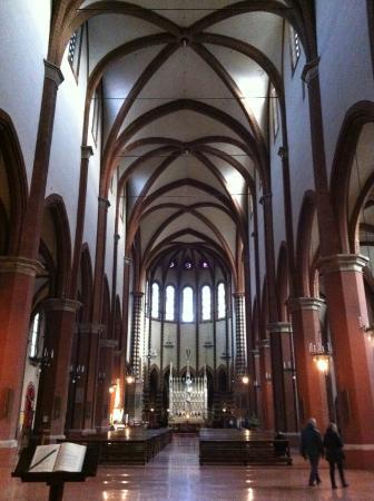Interno Della Basilica San Francesco Foto Di Basilica