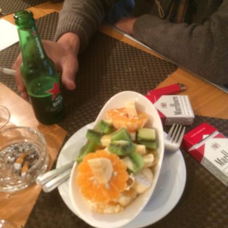 Restaurant Le Tyrolien: Très belle salade de fruits après des plats qui la mérite