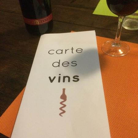 Le Palissy Chez Norbert: Chez Norbert Le Palissy's new and wonderful Carte des Vins. Excellent and very reasonable! Janua