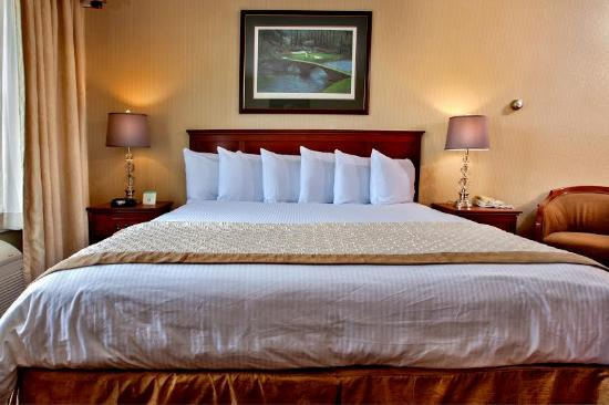 The Lotus Suites : Luxurios King size Bed