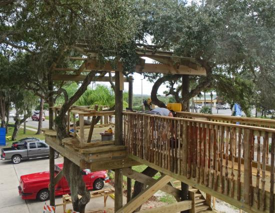 Norwoods Treehouse Deck