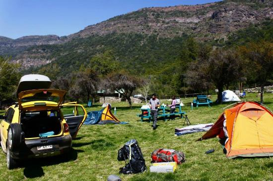 Rancagua, ชิลี: Zona de camping Ranchillo