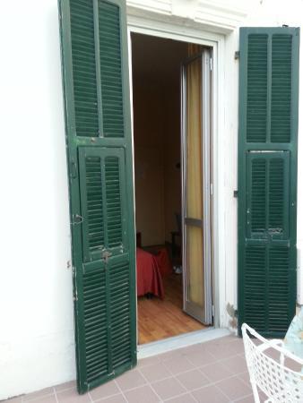 Hotel Villa La Brise: De la terrasse...