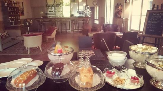 Hotel de Gantes: 1er Petit déjeuner 2015