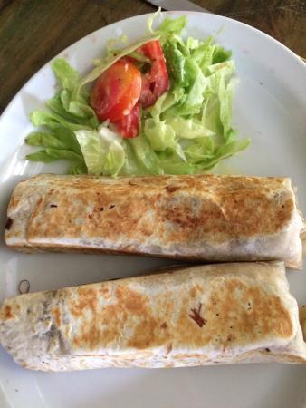 Maria Bonita: Beef burritos