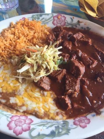 Fiesta Mexicana Family Restaurant: Chile Colorado