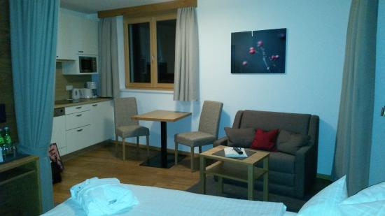 Hotel Alpenleben: Eet/zit gedeelte