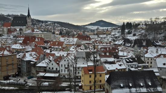 Pension Anna : Чески-Крумлов  -  красивейший город Чехии.