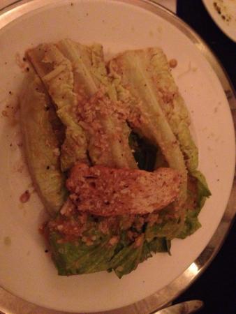 Angelo's: Table side Cesar Salad