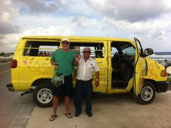 Hotel Hermanos Aguilar: Ramon the taxi driver