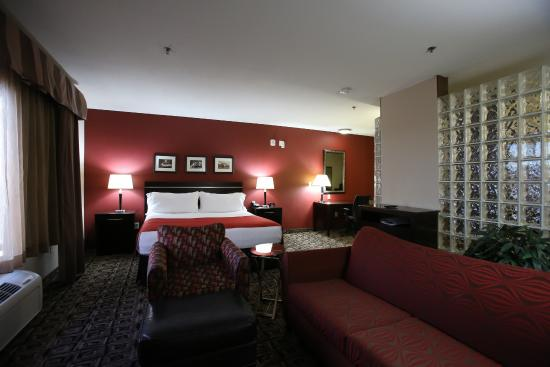 Holiday Inn Hotel Suites Salt Lake City Airport West Our King Presidential Suite