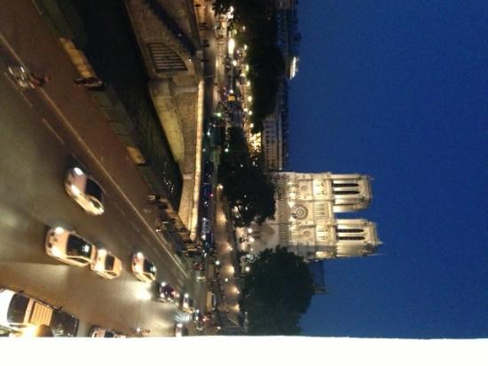 Les Rives De Notre Dame: Vista do quarto