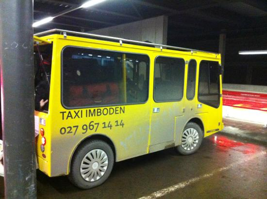 Jolimont Ferienwohnungen: One of the electro taxis