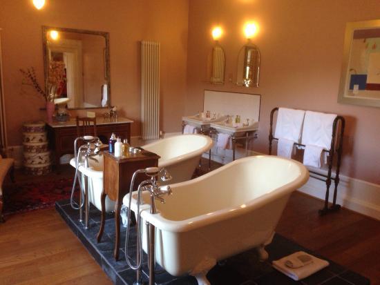 Boath House: Beautiful bathroom