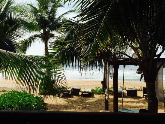 Hotel Casa Aamori: beach area