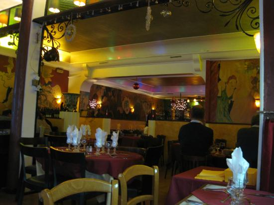 1 picture of bistro de montmartre paris tripadvisor for Restaurant miroir montmartre