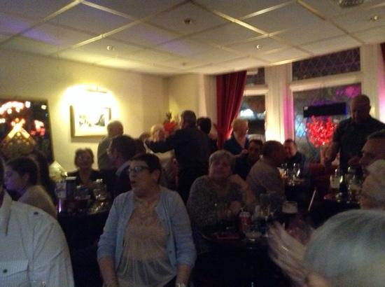 The Albany Hotel on Albert Road : fun at New Year
