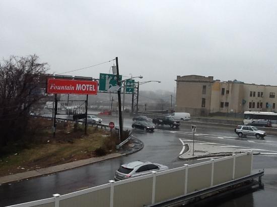 Super 8 North Bergen NJ/NYC Area: Vista desde el hotel