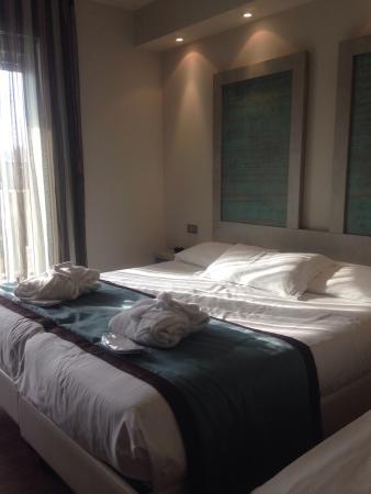 Camera matrimoniale 316 usata come tripla - Picture of Hotel ...