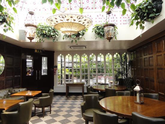 Langton House Hotel: hotel interno