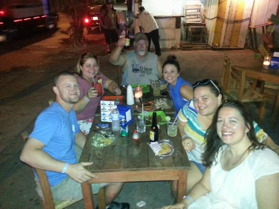 El Roots Cafe: First night and the best night in Mazatlan!