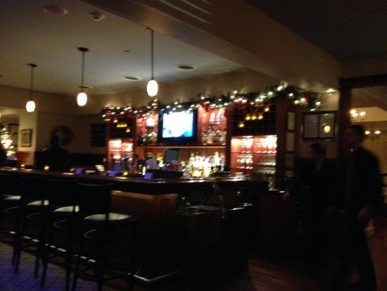 The Bar Room Of Athos Restaurant Albany Ny