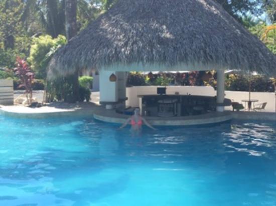 Hotel Villas Playa Samara: Swim up bar