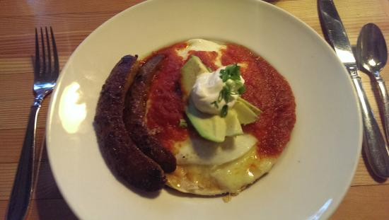 The Fork at Agate Bay: Huevos Rancheros