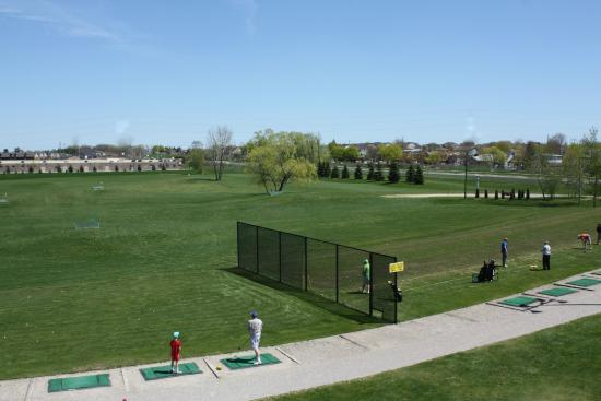 Backyard Driving Range 300+ yard driving range - picture of wedges 'n woods golf academy