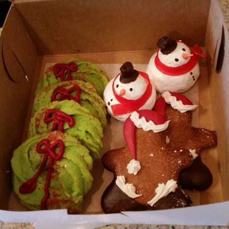 Jim's Small Batch Bakery: gâteaux de Noël