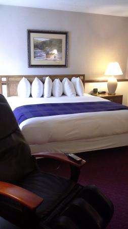 Fireside Inn & Suites: King sized Comfort